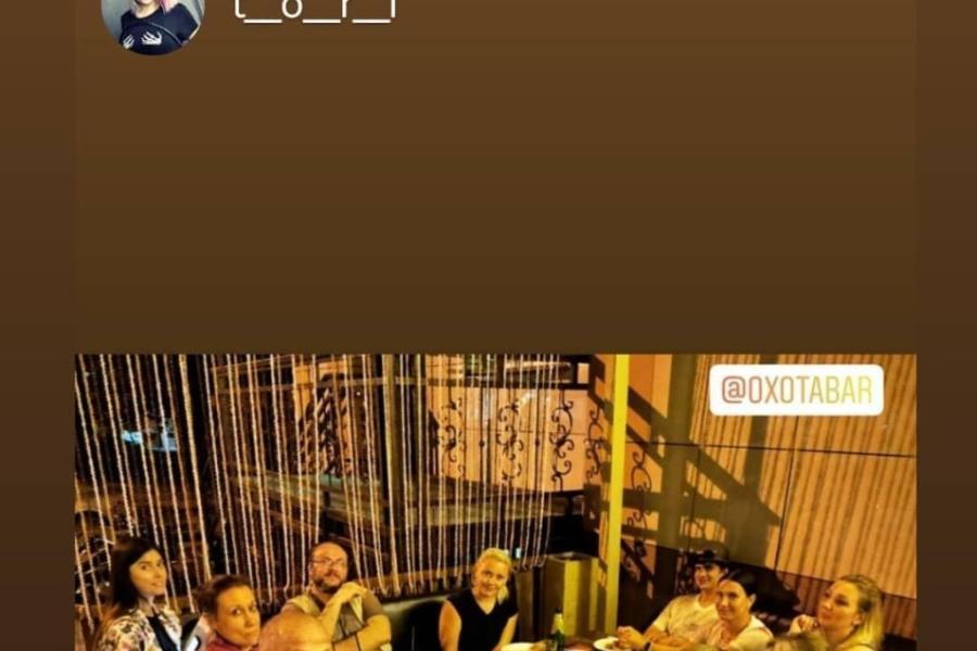 официант в караоке клуб в москве